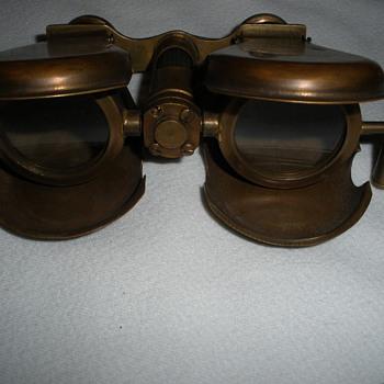 Old time binoculars