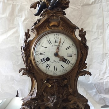 help identifying antique clock?  - Clocks