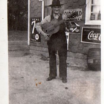 Unknown Photo of Guitar Entertainer - Photographs