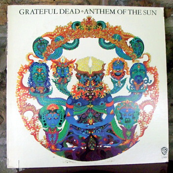 Grateful Dead Anthem of the Sun LP with rare white cover