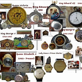 Royal Commemoration & Souvenir Clocks/Watches - Clocks