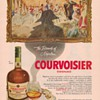 1954 Courvoisier Cognac Advertisement 1