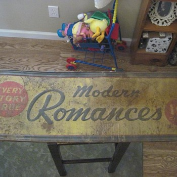 Romance Stories Metal Sign - Signs