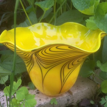 Garden glass by David Lotton - Art Glass