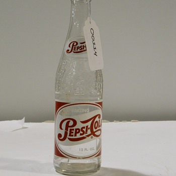 Pepsi Cola Bottle - Bottles