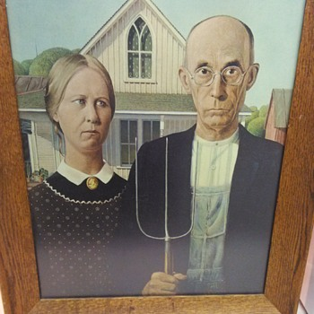 AMERICAN GOTHIC PRINT - Visual Art