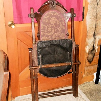 Fancy Smancy Folding Chair 1857