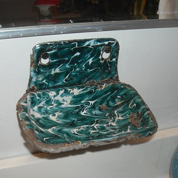 Graniteware/Enamelware Chrysolite Soap Dish - Kitchen