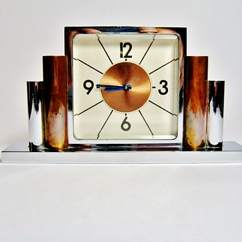 UNKNOWN ART DECO ALARM CLOCK