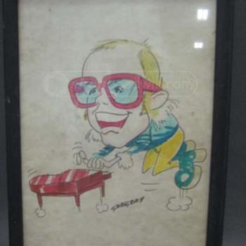 Elton John...  1982 indiana concert