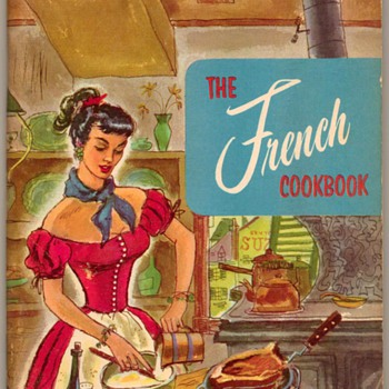 "1955 - ""The French Cookbook"" - Books"