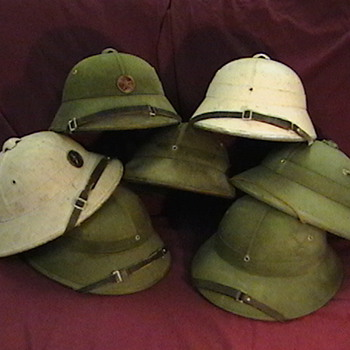 North Vietnamese Army and Navy Helmets - Military and Wartime