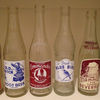 Some of my ACL soda bottles