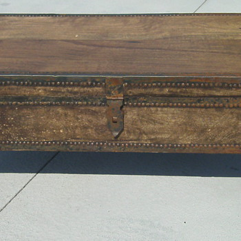 Elephant Trunk Coffee Table Chest