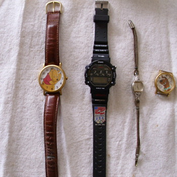 Odd group of watches - Wristwatches