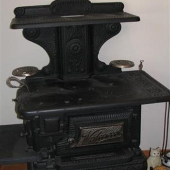 Wedgewood 1896 Wood burning stove - Kitchen