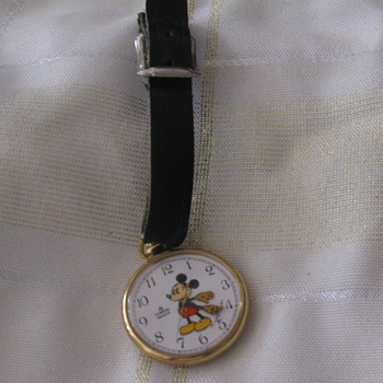 Mickey Mouse Watch - Pocket Watches