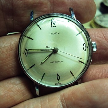 1963 Timex Marlin - Wristwatches