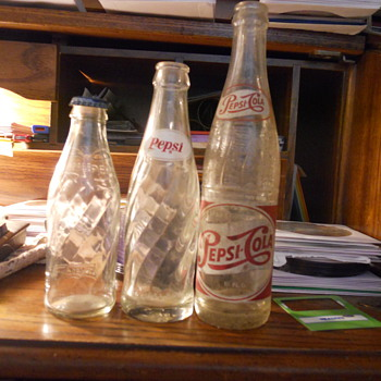 old Pepsi cola Bottle - Bottles