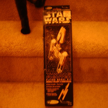 Star Wars Y-Fighter Balsa Wood Model