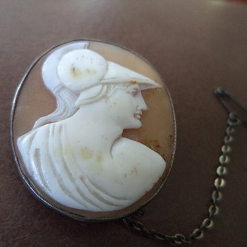 Antique Cameo Brooch - Fine Jewelry