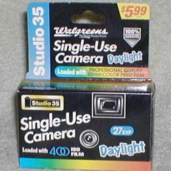 Walgreens Studio 35 Single-Use Camera - unused - Cameras