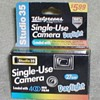 Walgreens Studio 35 Single-Use Camera - unused