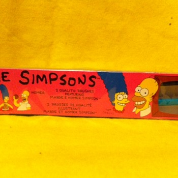 Simpsons Hygiene and First Aid tie ins - Advertising