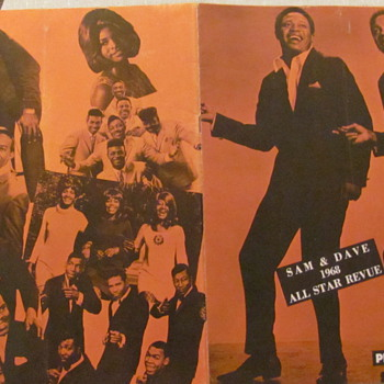 SAM & DAVE CONCERT TOUR PROGRAM 1968 - Music Memorabilia