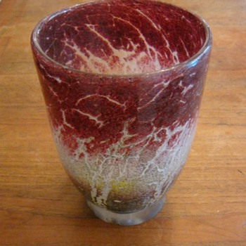 Glass Vase for Alfredo - Art Glass