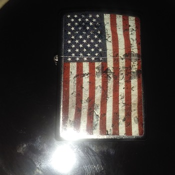 U.S. Flag Lighter! - Tobacciana