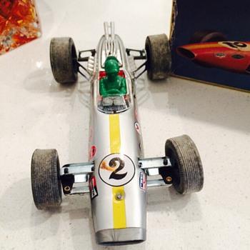 Daiya Lotus formula 2 vintage toy battery operated car - Toys
