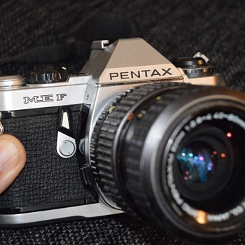 Pentax ME F with smc pentax-m zoom 1:2.8~4 40~80mm - Cameras