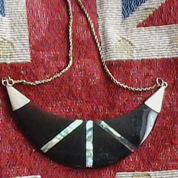 tortoiseshell & silver bracelet - Fine Jewelry