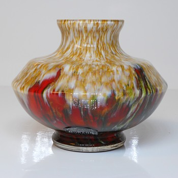 Frank Welz Attribution Vase, 20 Century
