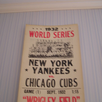 World Series Sign
