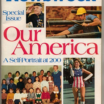 Newsweek Magazine - U.S. Bicentennial Issue - Paper