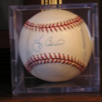 Yogi Berra Autographed Baseball - Baseball