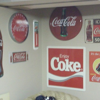 Some of my little collection - Coca-Cola