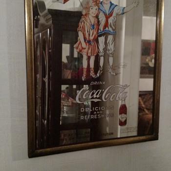 Coca Cola Pub Mirror - Advertising