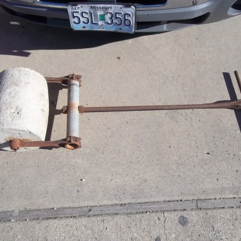 HOMEMADE ROLLER/COMPACTOR - Tools and Hardware