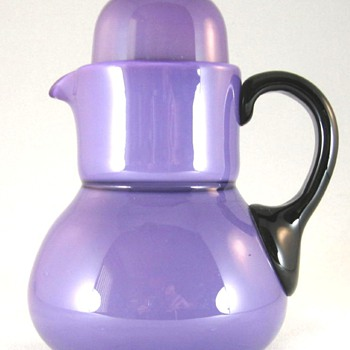 PURPLE TANGO TUMBLE UP, POLISHED PONTIL - Art Glass