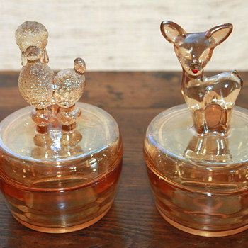 Poodle and Fawn... - Glassware