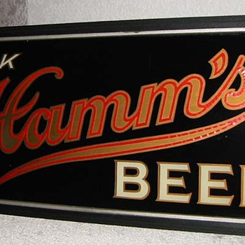 1930's Hamms beer light up sign-St Paul MN
