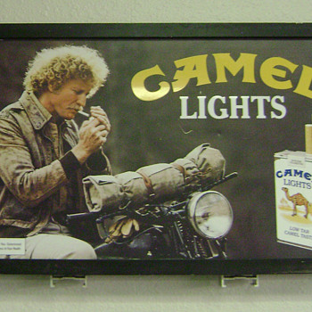 Camel Lights Two-Sided Sign - Signs