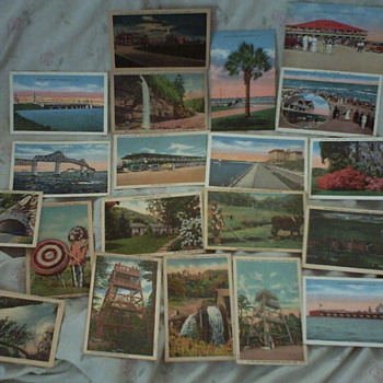 50's & 60's Postcards From The Carolina's - Postcards