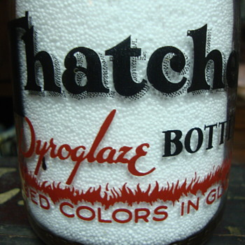 Thatcher Pyroglaze Quart Bottle.......