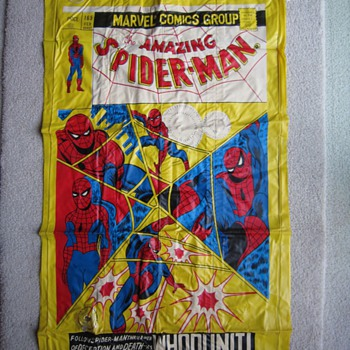 1977 Spider-Man Issue#165 Marvel Comics Inflatable Water Raft - Comic Books