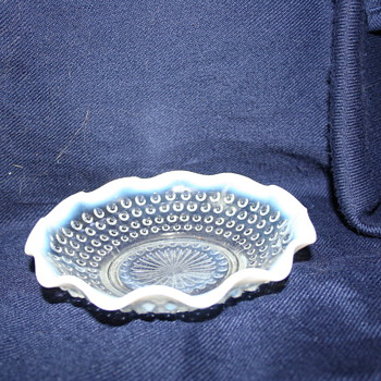 Another Fenton Opalescent Hobnail what else?