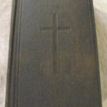 My Third Great Grand Uncle's Book of Common Prayer